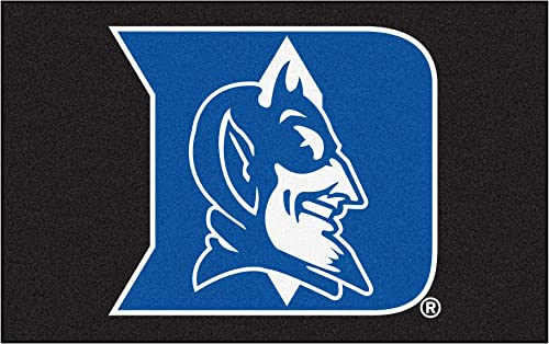 FANMATS NCAA Duke University Blue Devils Nylon Face Ultimat Rug