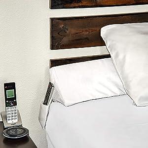 SnugStop Bed Wedge Mattress Wedge (King) Headboard Pillow Gap Filler