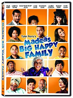Book Cover: Madea's Big Happy Family