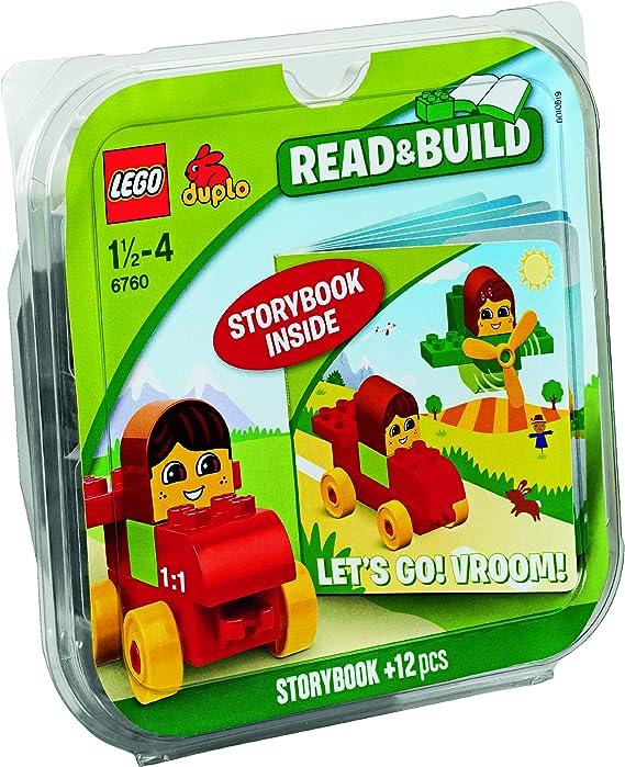 LEGO Duplo 6760 - Ladrillos & Libros ¡En Marcha! ¡Brum, Brum!: Amazon.es: Juguetes y juegos