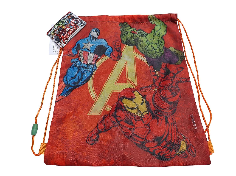Marvel Avengers PE Drawstring Bag Back Pack Shoulder Shoe Bag Back To School