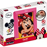 Quercetti 00826 - Gioco Wd Pixel Art Mini Minnie