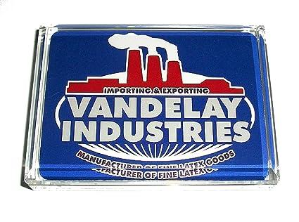 Seinfeld Vandelay Industries Acrylic Executive Display Piece Desk Paperweight