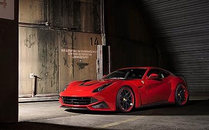 Amazon Com Prints For Me 2014 Novitec Rosso Ferrari F12 Berlinetta