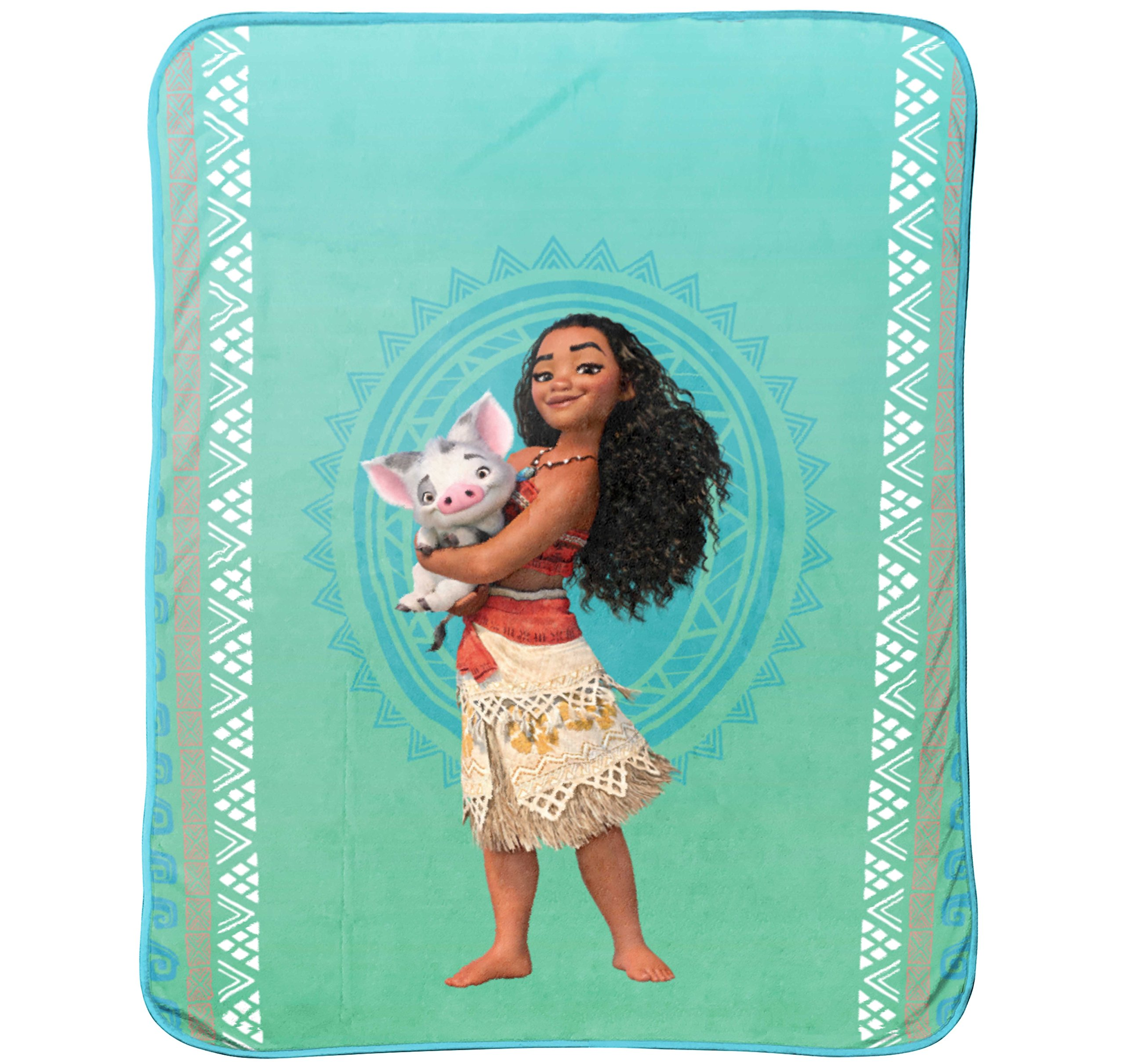 Disney Moana 'The Wave' Plush 46'' x 60'' Throw