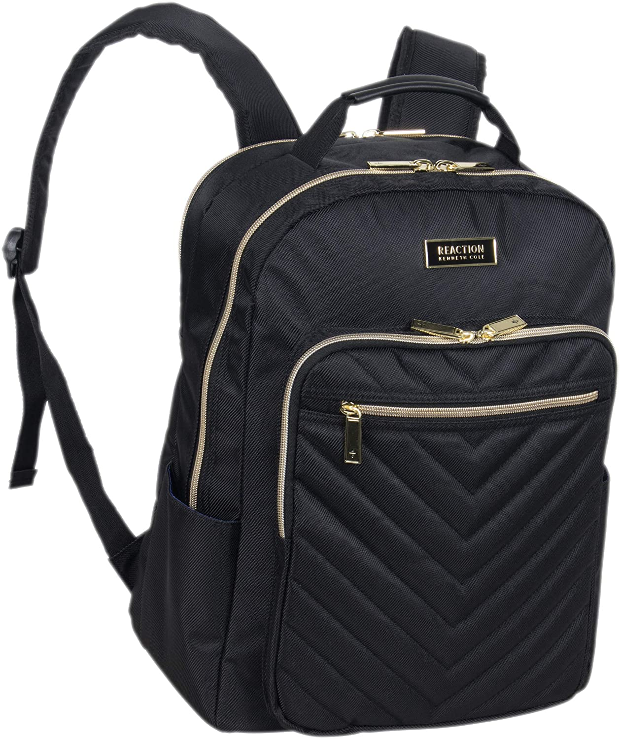 Amazon.com: Kenneth Cole Reaction Women's Chelsea Backpack Chevron Quilted  15-Inch Laptop & Tablet Fashion Bookbag Daypack, Black, One Size