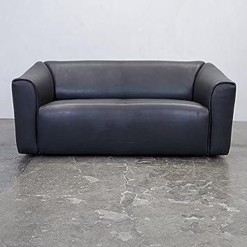 Amazon De De Sede Ds 47 Neckleder Sofa Schwarz Zweisitzer Couch