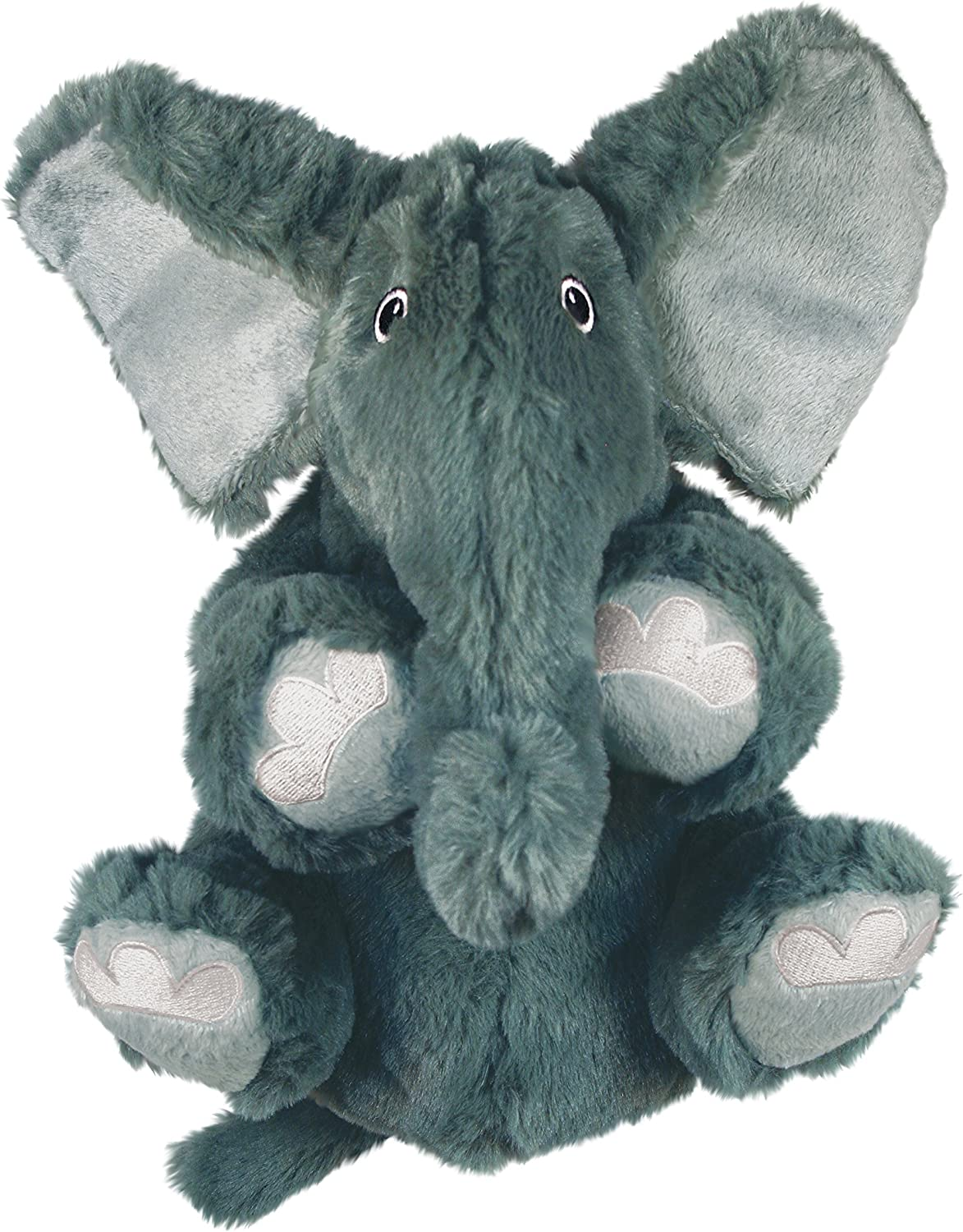 KONG - Comfort Kiddos Elephant - Fun Plush Dog Toy with Removable Squeaker - For Large Dogs