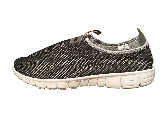 hot sales 881e9 6bafd Amazon.com   TOOSBUY Breathable Running Sport Tennis Shoes, Beach Aqua,  Outdoor, Athletic, Rainy, Skiing, Yoga, Exercise, Slip on Water, Car Shoes  Women ...