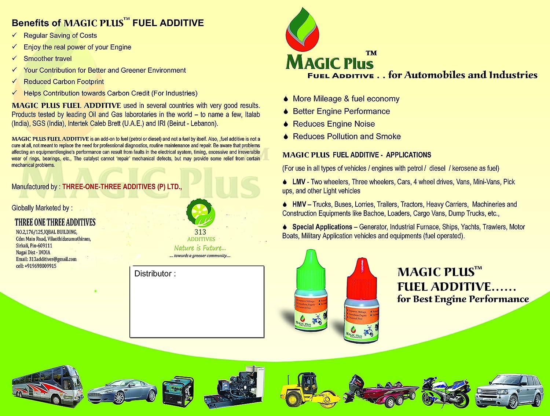 Magic Plus Fuel additives LMV 5ml: Amazon in: Car & Motorbike