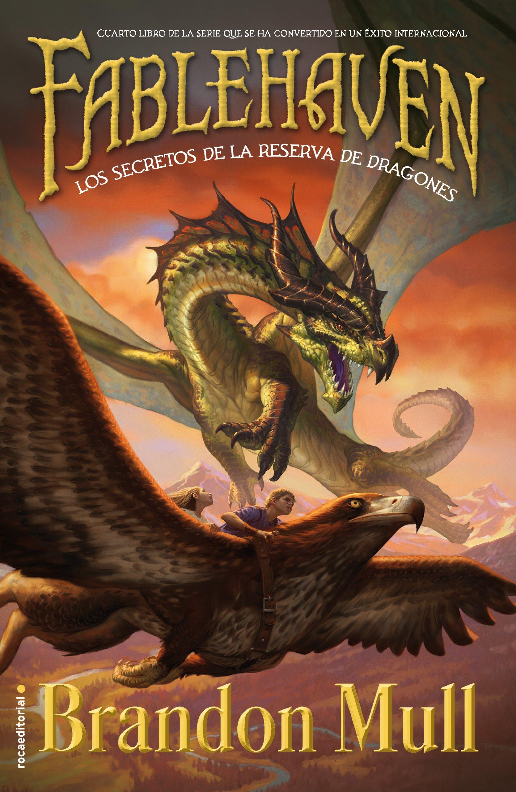 Los secretos de la reserva de los dragones: Libro IV Junior - Juvenil roca: Amazon.es: Brandon Mull, Inés Belaustegui: Libros