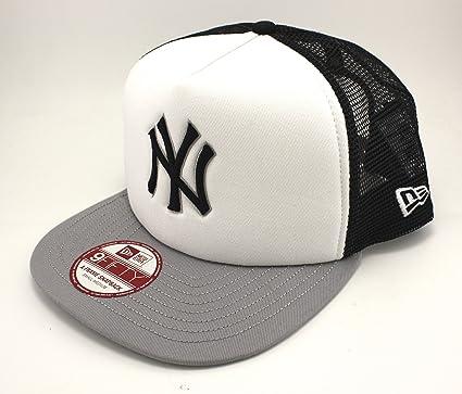 New Era - 9FIFTY A FRAME SNAPBACK CAP. TEAM MESH NEW YORK YANKEES ...