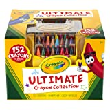 Amazon Price History for:Crayola; Ultimate Crayon Collection; Art Tools; 152 Colors, Durable Storage Case, Long-Lasting Colors