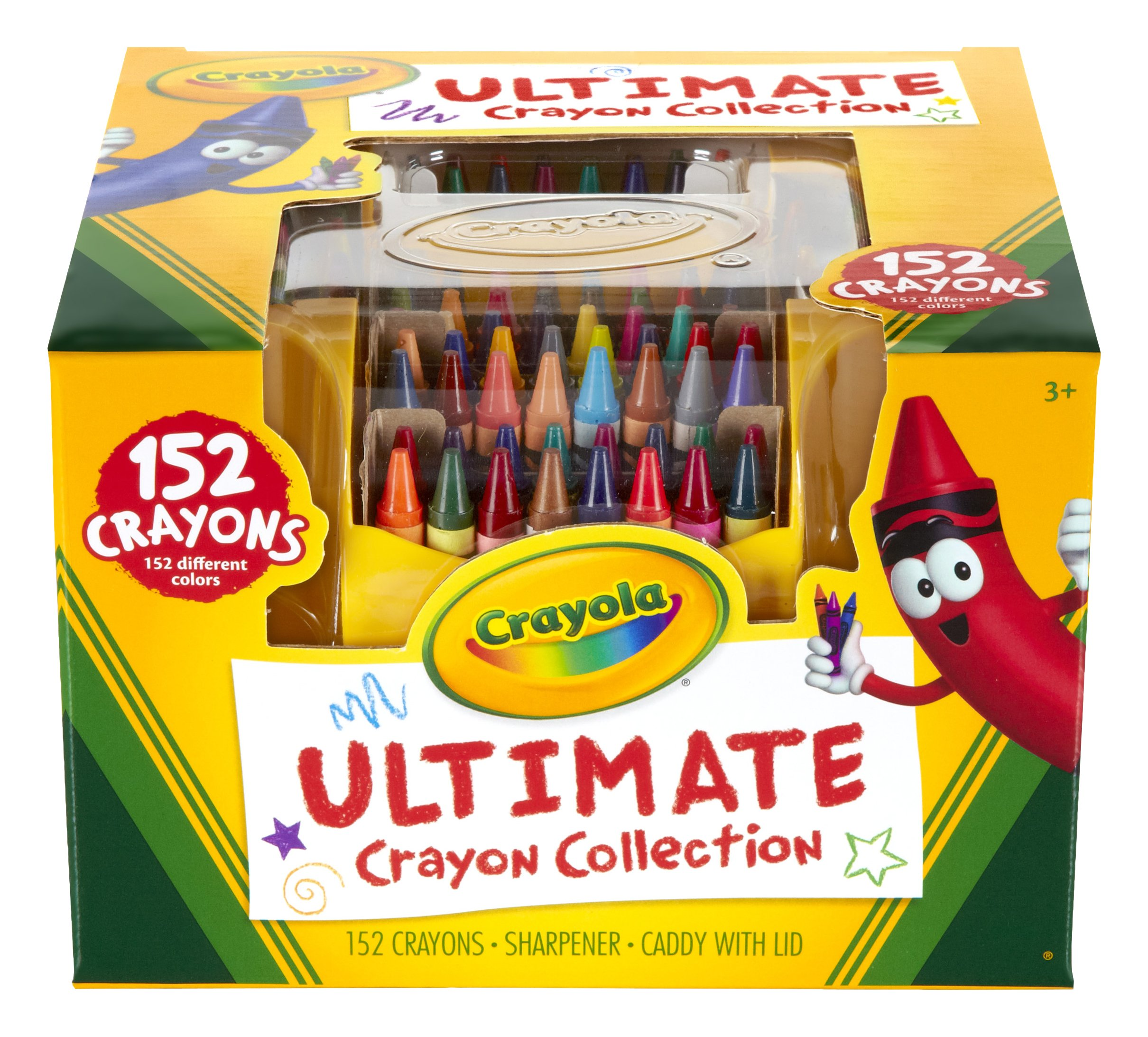 Crayola Ultimate Crayon Collection, 152 Pieces, Art Set, Gift
