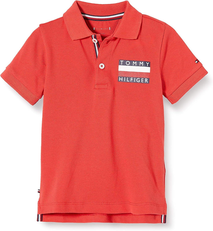 Tommy Hilfiger Baby Boy Tommy Polo S//S Camiseta para Beb/és
