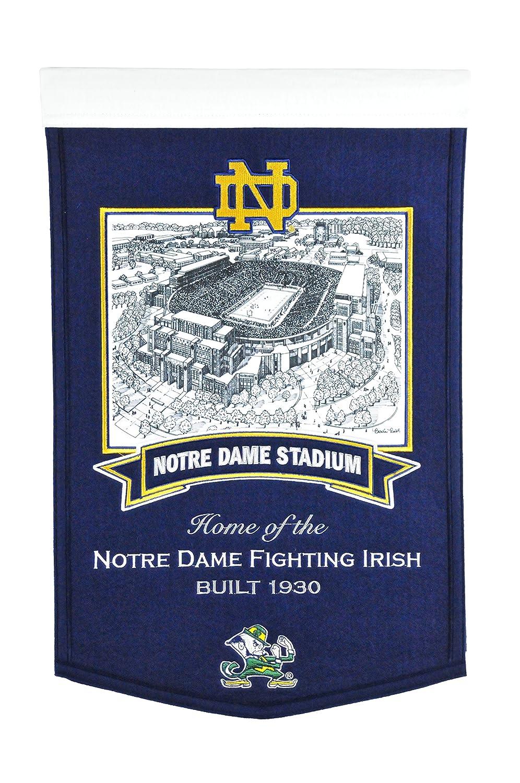Winning Streak NCAA Notre Dame Fighting Irish Stadium Banner