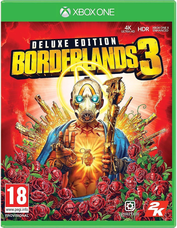 Amazon Com Borderlands 3 Deluxe Edition Ps4 Playstation 4