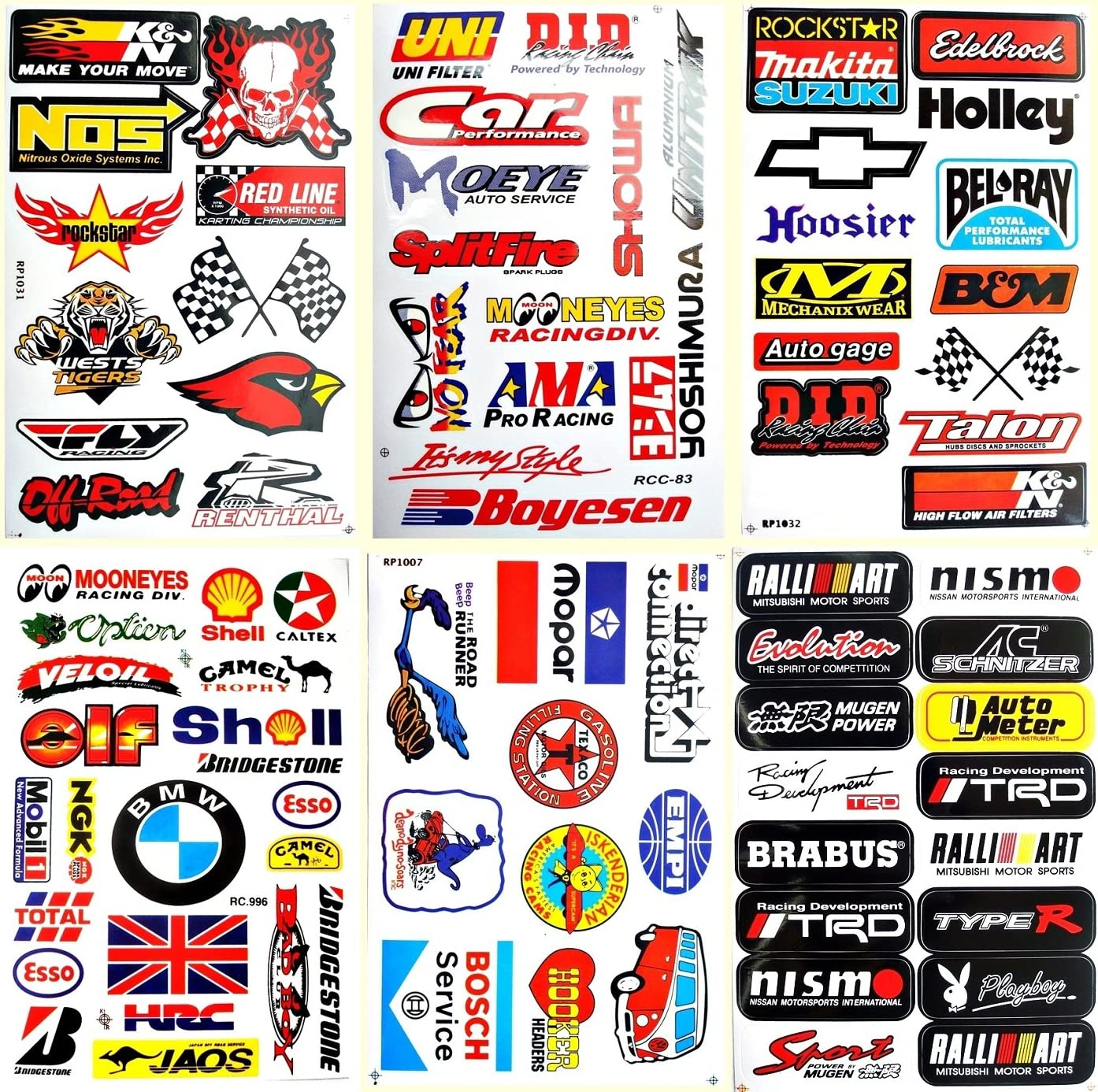 Best4Buy Compatible for Car Auto Truck Automotive Accessories Sponsor ATV Drag Racing...