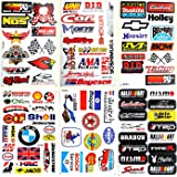 Amazon Com Racing Decal Sticker Piece Assortment Pack By Crash
