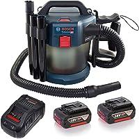 System profesjonalny 18 V firmy Bosch: odkurzacz akumulatorowy do pracy na sucho i mokro GAS 18V-10 L (przezroczysty, 2…