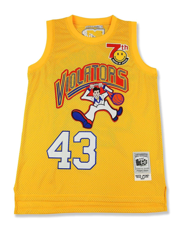 3b10e4612 Amazon.com : HeadGear Rock N Jock Busta Rhymes Basketball Jersey : Sports &  Outdoors