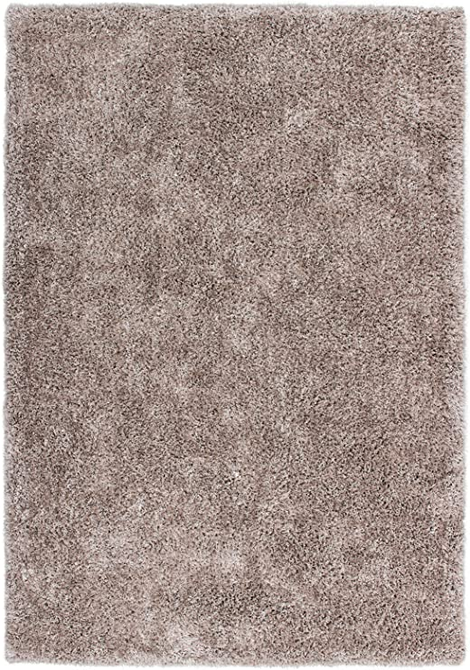 Sona-Lux Alfombra handgetuftet suave micro poliéster Shaggy Hochflor algodón espalda Beige Tamaño elegir, poliéster, beige, 200 x 290 cm: Amazon.es: Hogar