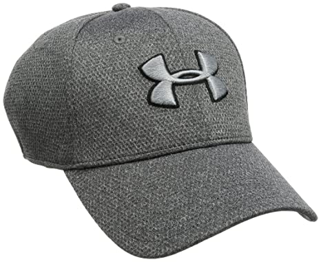 699bfece392 Under Armour Heather Blitzing Men s Baseball Cap  Amazon.in  Clothing    Accessories
