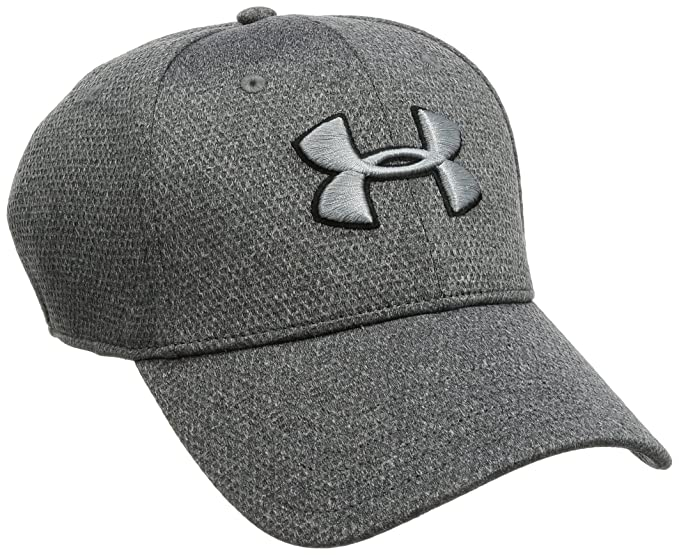 best loved 4d386 d22eb Under Armour Men s Heathered Blitzing Cap, Black Steel, Medium Large
