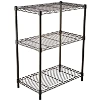 AmazonBasics 3-Shelf Shelving Unit Deals