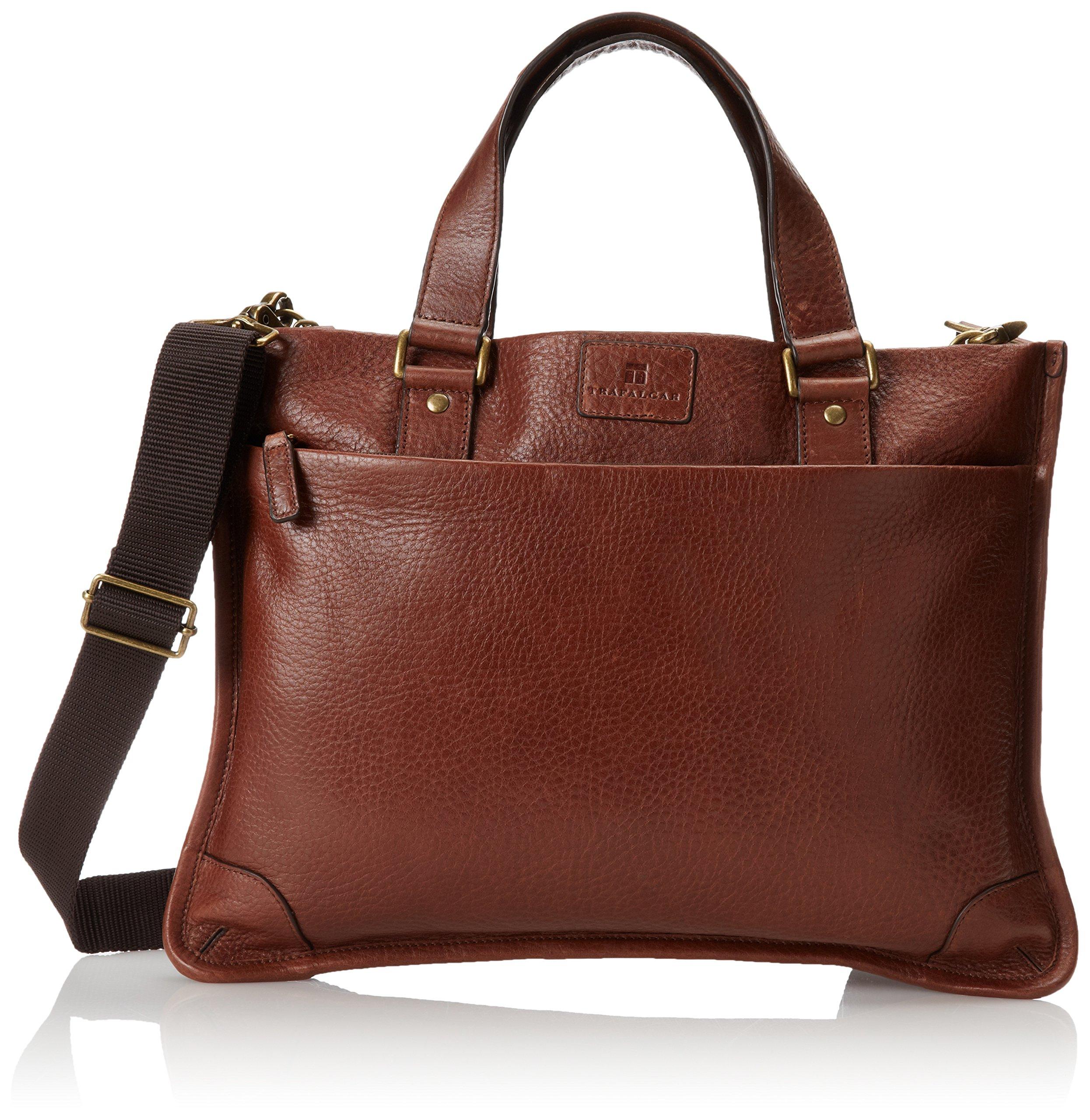 Trafalgar Men's Murray Hill Slim Brief Bag, Brown, One Size