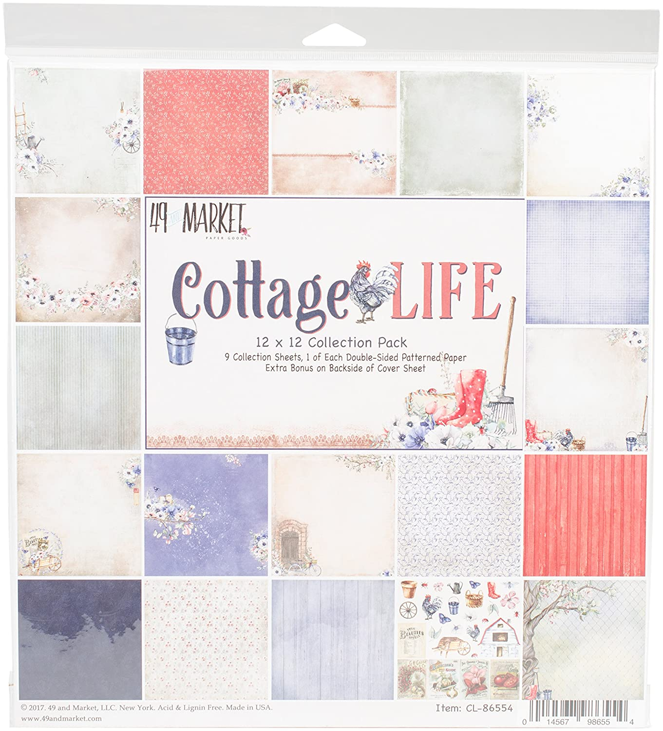 49 and Market CL-86554 Collection Pack 12'X12'