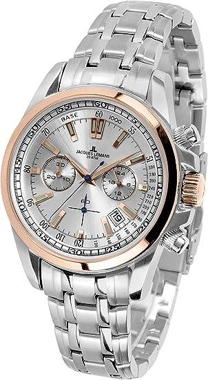 9afde03b67aa Jacques Lemans Liverpool - Reloj de Pulsera analógico de Cuarzo Acero  Inoxidable 1 - 1117.1zn  Amazon.es  Relojes