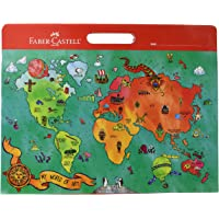 Faber-Castell My World of Art Portfolio - 8 Expandable Folder Pockets for Children's Artwork