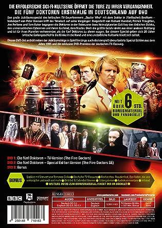 Doctor Who Die Fünf Doktoren 3 Dvds Amazonde Peter