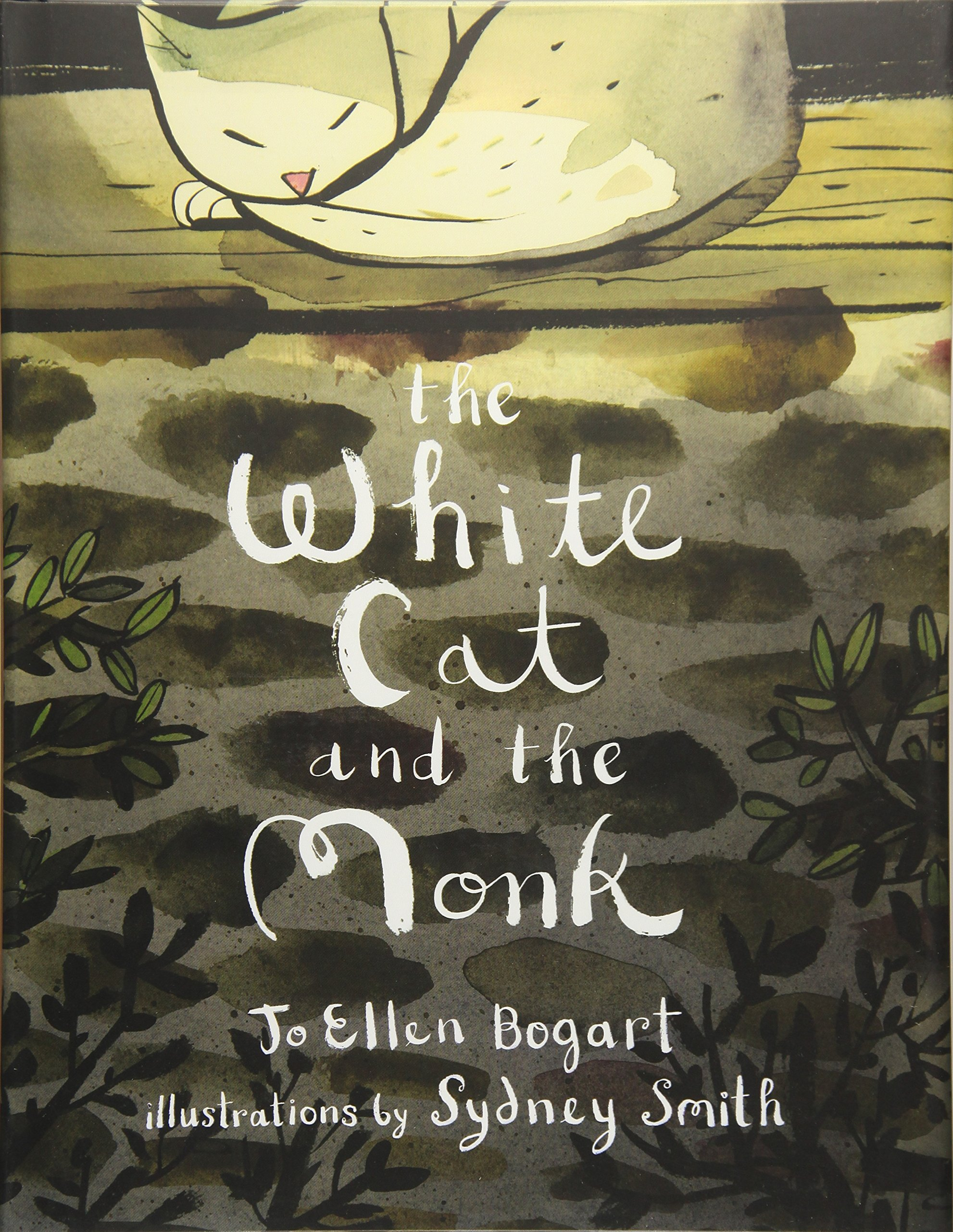 The White Cat and the Monk: A Retelling of the Poem ''Pangur Bán'' by Groundwood Books (Image #1)