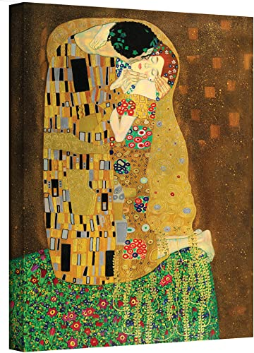 The Art Wall The Kiss Gallery Wrapped Canvas Art
