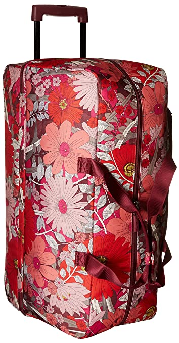 a3b36c1393d6 Vera Bradley Women s Lighten up Large Wheeled Duffel