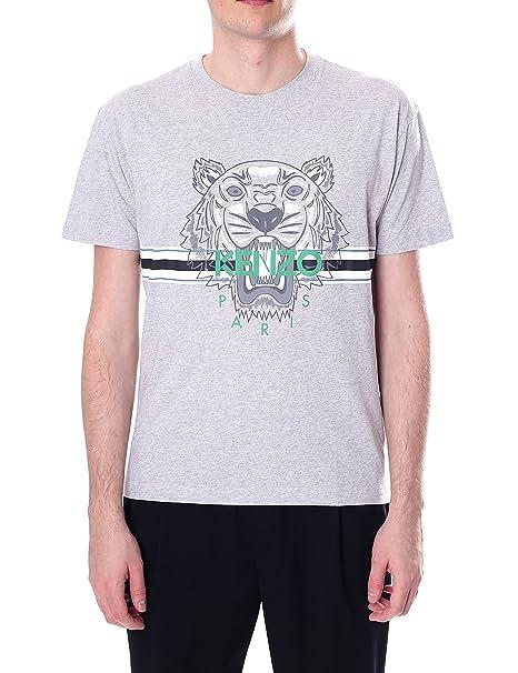 Kenzo - Camiseta - para Hombre Gris Pale Gris Medium