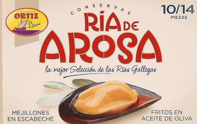 Delicias de Espana, Mejillones (Mejillones en escabeche en ...