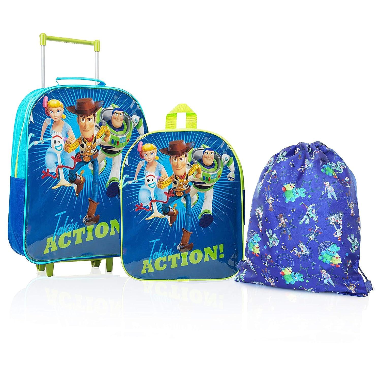 Disney Toy Story 4 Mochilas Escolares Juveniles con Forky, Woody, Buzz Y Bo Peep | Mochila De Cuerda Infantil | Bolsa De Viaje para Niños | Mochila Pequeña Niños | Juego De Viaje