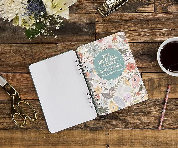 Amazon Orange Circle Studio 2018 Do It All Planner Aug 2017
