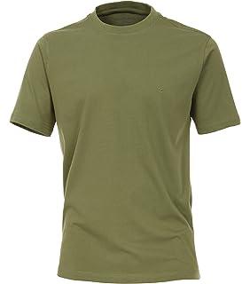 Michaelax-Fashion-Trade CASA Moda - Herren T-Shirt Halbarm Unifarben,  Pflegeleicht 12f7c7cae3