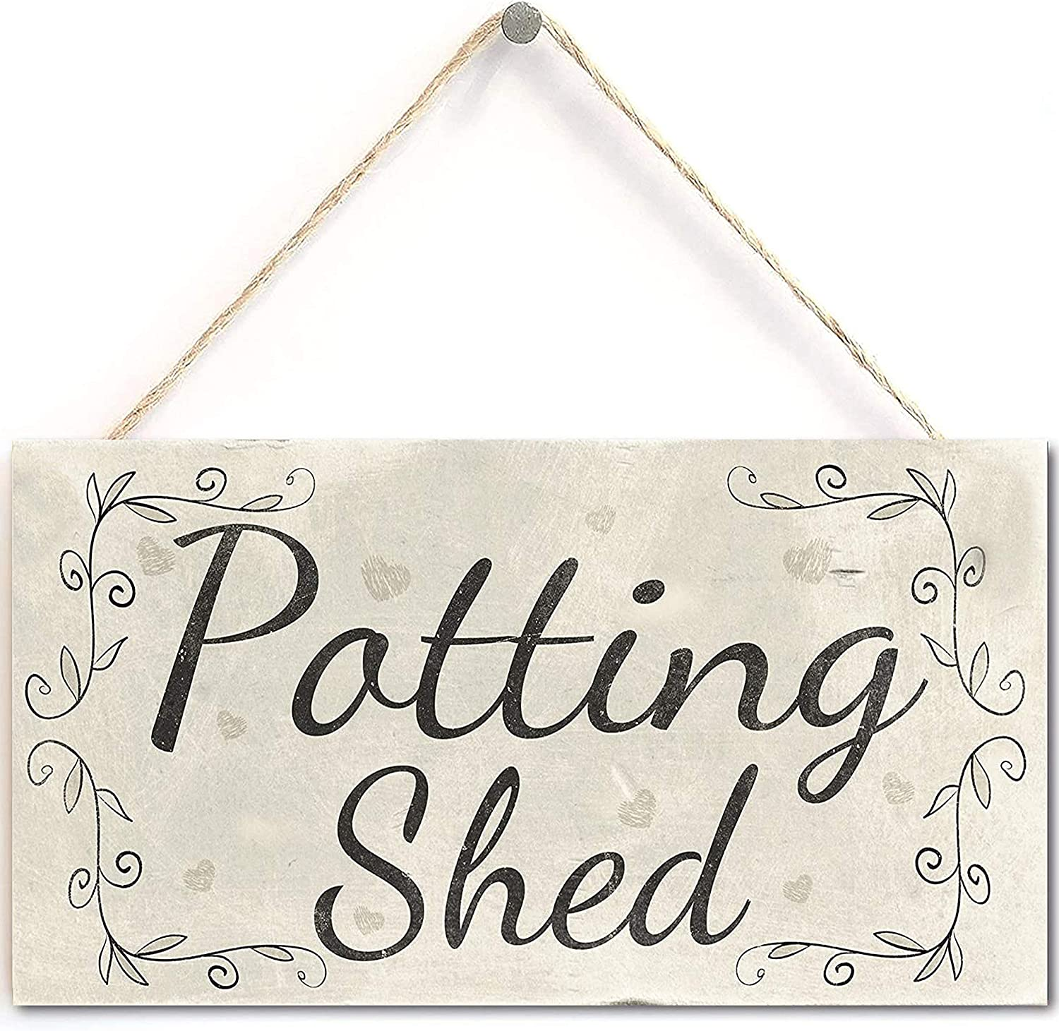 None/Brand Potting Shed - French Country Decor Wood Sign/Plaque Gardening Gift