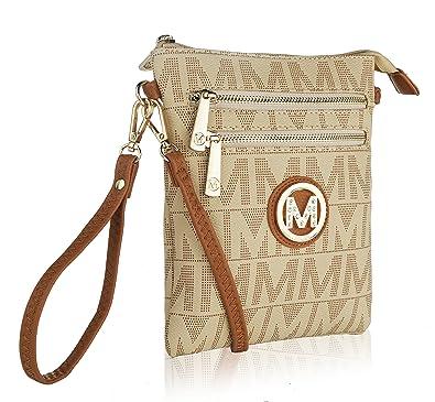 4897d1b3d8 MKF Crossbody Bag for women - Removable Adjustable Strap - Vegan leather  wristlet Designer messenger Purse