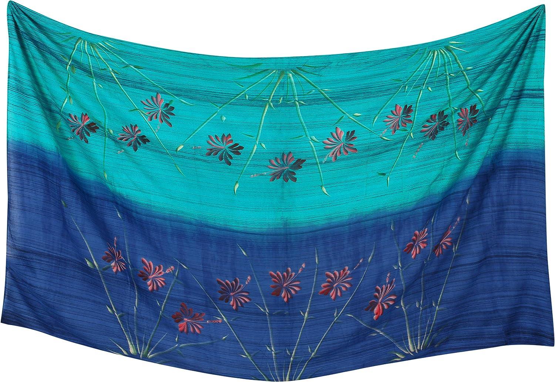 LA LEELA m/ás el tama/ño del Bikini de Las Mujeres Ropa de Playa Encubrir Envoltura de la Falda del Traje de ba/ño de nataci/ón Vestido Pareo Pareo