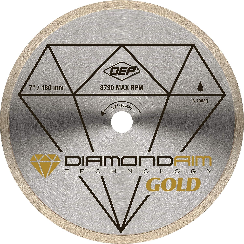 4. QEP 6-7003Q 7 Inch Diameter Continuous Rim Premium Diamond Blade