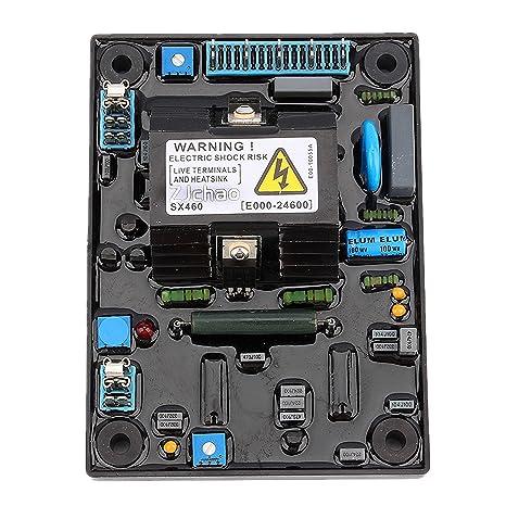 Amazon zjchaotm automatic voltage regulator avr sx460 for zjchaotm automatic voltage regulator avr sx460 for generator electronics asfbconference2016 Choice Image