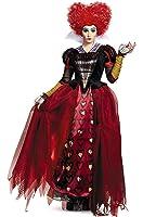 Disney Women's Alice Red Queen Deluxe Costume