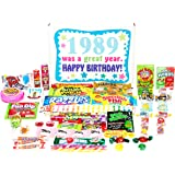 Woodstock Candy 1989 29th Birthday Gift Box - Retro Nostalgic Candy Assortment from Childhood for 29 Year Old Man or Woman