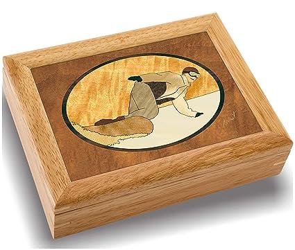 c5eb3edc8c7f MarqART Snowboard Wood Art Trinket Jewelry Gift   Box - Handmade USA -  Unmatched Quality -